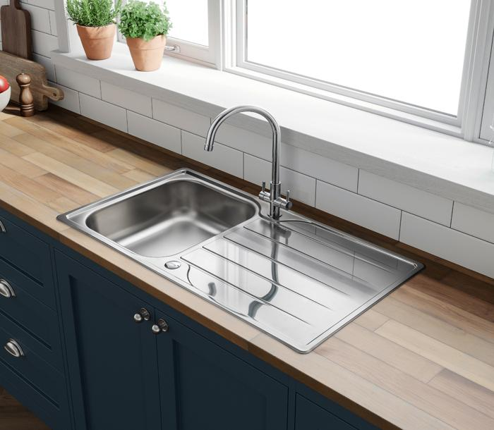 Albion Single Bowl Kitchen Sink